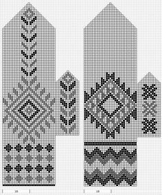 Pattern for mittens, but would also work for a lovely scarf! Tapestry Crochet Patterns, Fair Isle Knitting Patterns, Knitting Charts, Hand Knitting, Knitted Mittens Pattern, Knit Mittens, Knitted Gloves, Knit Or Crochet, Craft Patterns