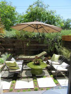 Patio - hardscape the backyard?