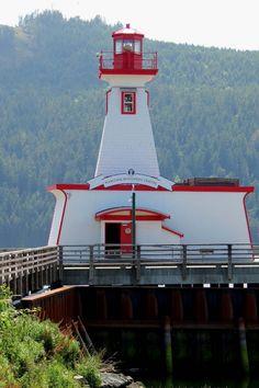 Port Alberni Lighthouse, Vancouver Island, British Columbia, Canada