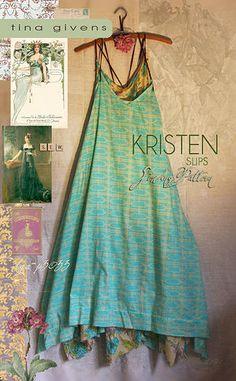 KRISTEN SLIP DRESS by Tina Givens