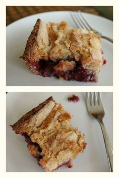 Homemade Blackberry Cobbler ~ an easy and tasty dessert using delicious blackberries! | The Happy Housewife
