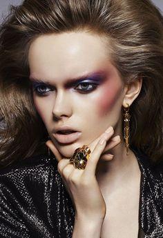 кобальт / cobalt / мода / fashion / фэшн / стиль / style / make-up / макияж / образ / hair