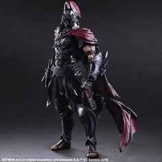 """Gran trabajo con la línea de figuras que la compañia Enix , en su serie """"Batman Timeless"""", llega una nueva figura Batman Espartano"""