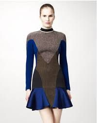 Image result for manipulated fabric dresses