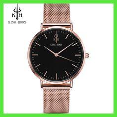 KING HOON Women Watches Luxury Brand Fashion Quartz Ladies Stainless Steel Bracelet Watch Casual Clock montre Femme reloj mujer