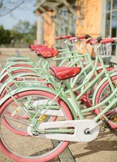 Retro bikes