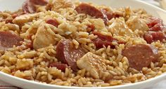 easiest jambalaya ever! and you can control what ingredients you use instead of the salty old zatarains style kind.