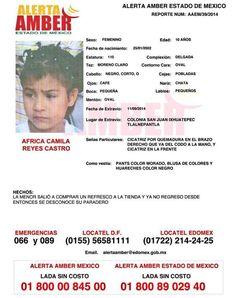 Alerta AMBER Mundo (@Ratn12) | Twitter