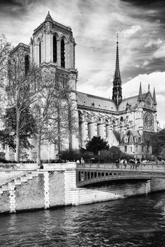size: Photographic Print: Notre Dame Cathedral - Paris - France Poster by Philippe Hugonnard : Paris France, Yosemite National Park, National Parks, Paris Wall Art, Beach Landscape, Ways Of Seeing, Barcelona Cathedral, Scenery, Philippe