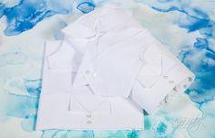 Λαδόπανο τύπου σμόκιν λευκό βαμβακερό., annassecret, Χειροποιητες μπομπονιερες γαμου, Χειροποιητες μπομπονιερες βαπτισης