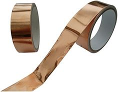 From 5.24:Emi Copper Foil Shielding Tape 25mm X 4m Low Impedance Conductive Adhesive