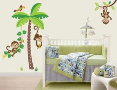 Mischievous Monkeys Wall Decal at AllPosters.com