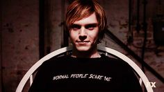 Normal people scare me #AmericanHorrorStory