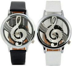 Cheap wristwatch women, Buy Quality wristwatch mens directly from China wristwatch quartz watch Suppliers: New 2017 relogio Reloj Watch Men Women Clock Unisex lover Luxury Watches Note Music Notation Leather Quartz Wristwatch // Mens Sport Watches, Mens Watches Leather, Watches For Men, Women's Watches, Geneva Watches, Silver Watches, Luxury Watches, Casual Watches, Simple Watches