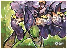 Purple Iris 10 -- Roger Akesson