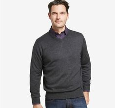 V-Neck Sweater | Johnston & Murphy