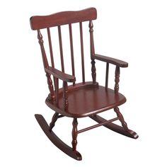 Gift Mark Childrens 3700 Rocking Chair - Cherry - 3700C