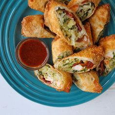 Braised Cabbage, Shrimp, and Bacon Egg Rolls