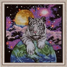 Tiger of the Heavens counted cross stitch kit   ~$27.99