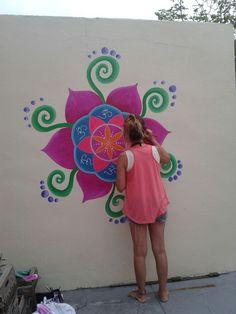 Mural. Karina Maricic