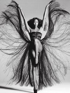 Naomi Campbell fashion