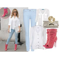 JLO Style by idbutterflykisses on Polyvore