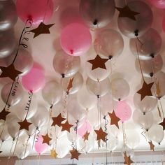 cute-balloon-decor-ideas-for-baby-shower… - Baby Shower Decorations