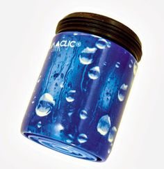 Spart bis zu 50% Wasser und Energie am Wasserhahn: AquaClic Le Grand Bleu aus Messing.