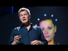 """Ed Ulbrich, the digital-effects guru from Digital Domain, explains the Oscar-winning technology that allowed his team to digitally create the older versions of Brad Pitt's face for """"The Curious Case of Benjamin Button. Brad Pitt Age, Face Change, Public Speaking, Inspirational Videos, Ted Talks, New Face, Got Him, Teaching Tools, Video Photography"""
