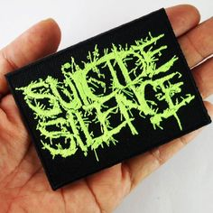 Suicide Silence Logo Patch