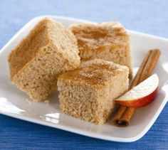 Sugar Free (with Stevia) Apple Cinnamon Coffee Cake from Sans Sucre