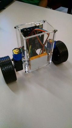 self balancing robot instructables