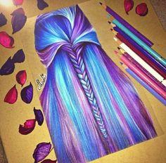 Wow. Beautiful hair