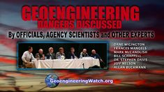 Geoengineering Dangers Discussed By Officials , Agency Scientists And Other Experts -- Pub on Dec 19, 2014 -- Why did mainstream media totally ignore this major gathering which presented hard science data on the dire issue of climate engineering? Because corporate media's job is to block credible data from reaching the public. All are needed to help sound the alarm on the lethal geo-engineering programs. Mainstream media will not help us in this critical battle, it's up to us.