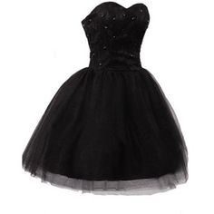 Black Sweetheart Lace Tulle Short Prom Gowns