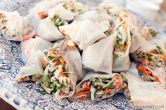 Vietnamesiske vårruller med and | Millas Mat