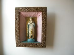 Virgin Mary Shadowbox