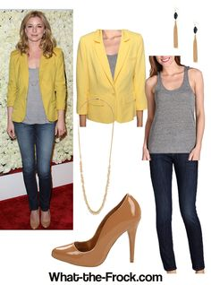 What the Frock? - Affordable Fashion Tips and Trends: Celebrity Look for Less: Emily VanCamp Style
