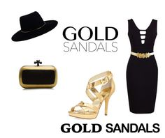 """""""Micro Trend: Solid Gold Sandals"""" by kristina-timofeeva ❤ liked on Polyvore featuring MICHAEL Michael Kors, Bottega Veneta and Zimmermann"""