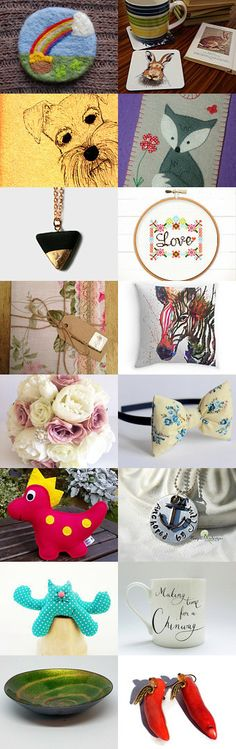 Fabulous February Finds by Sally and Becky on Etsy