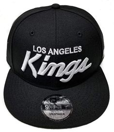 Amazon.com   New Era Los Angeles Kings 9Fifty Black and White Vintage  Script N.W.A Adjustable Snapback Hat NFL   Sports   Outdoors de6ee5148