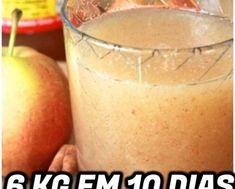 Suco Detox de Maça e Aveia Para PERDER 6Kg em 10 Dias | RECEITA FENOMENAL