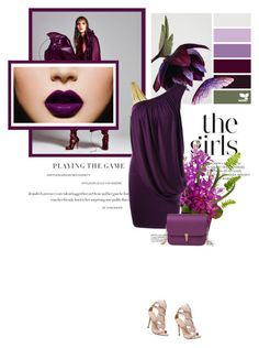 """""""Purple vibes"""" by stellina-from-the-italian-glam ❤ liked on Polyvore featuring purple, dress and summerstyle"""