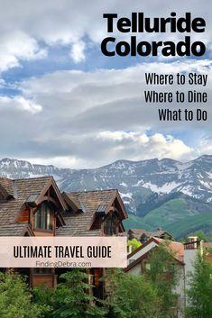 20 telluride colorado ideas in 2020 telluride telluride colorado travel guide pinterest