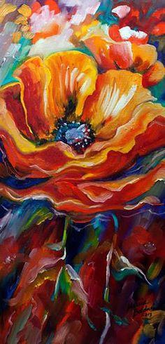 """""""Wild Poppy"""" par Marcia Baldwin"""