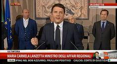 Matteo Renzi ha sciolto la riserva e domani il governo della 'rinascita' giurerà alle 11.30