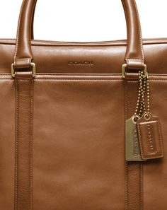 The Coach Bleecker Leather Commuter