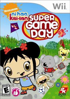 Amazon.com: Ni Hao, Kai-Lan: Super Game Day - Nintendo Wii: Video Games