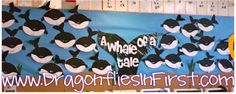 Killer whale craft plus story paper