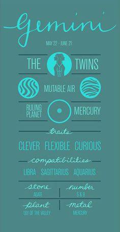 Gemini ~ Earth sign - ruled by mercury. Scorpio sun with Gemini moon = SCREWED (Mercury retrogrades) Gemini Quotes, Zodiac Signs Gemini, Gemini Facts, Astrology Zodiac, Astrology Houses, Constellations, All About Gemini, Gemini Life, Frases